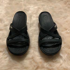 Crocs size 7 woman's sandals
